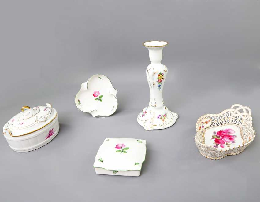 Mixed lot of 5 pieces, 20. Century: - photo 1
