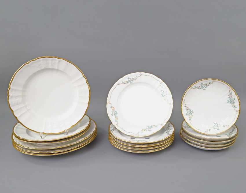 KPM dinner service for 5 persons 'Rocaille', 20. Century - photo 2