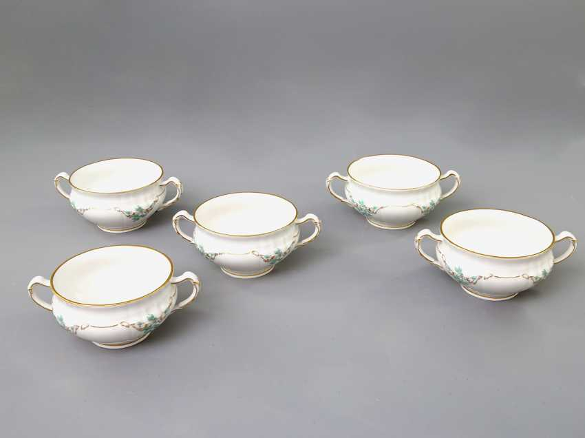 KPM dinner service for 5 persons 'Rocaille', 20. Century - photo 3