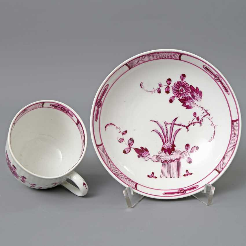 MEISSEN Cup/UT , 2. H. 18. Century, 1. Choice. - photo 2