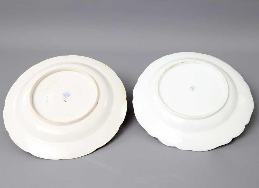 Ludwigsburg and Royal Copenhagen (?) 2 plates, 18. Century - photo 2