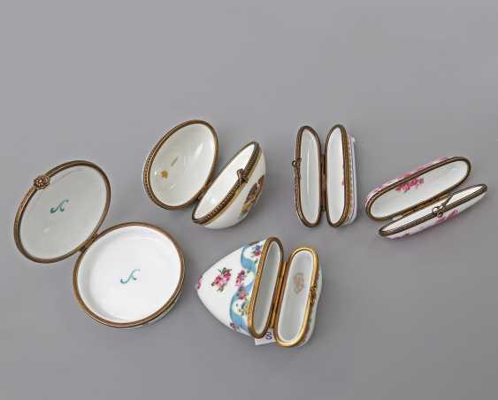 LIMOGES 10 lid tins, 20. Century - photo 4