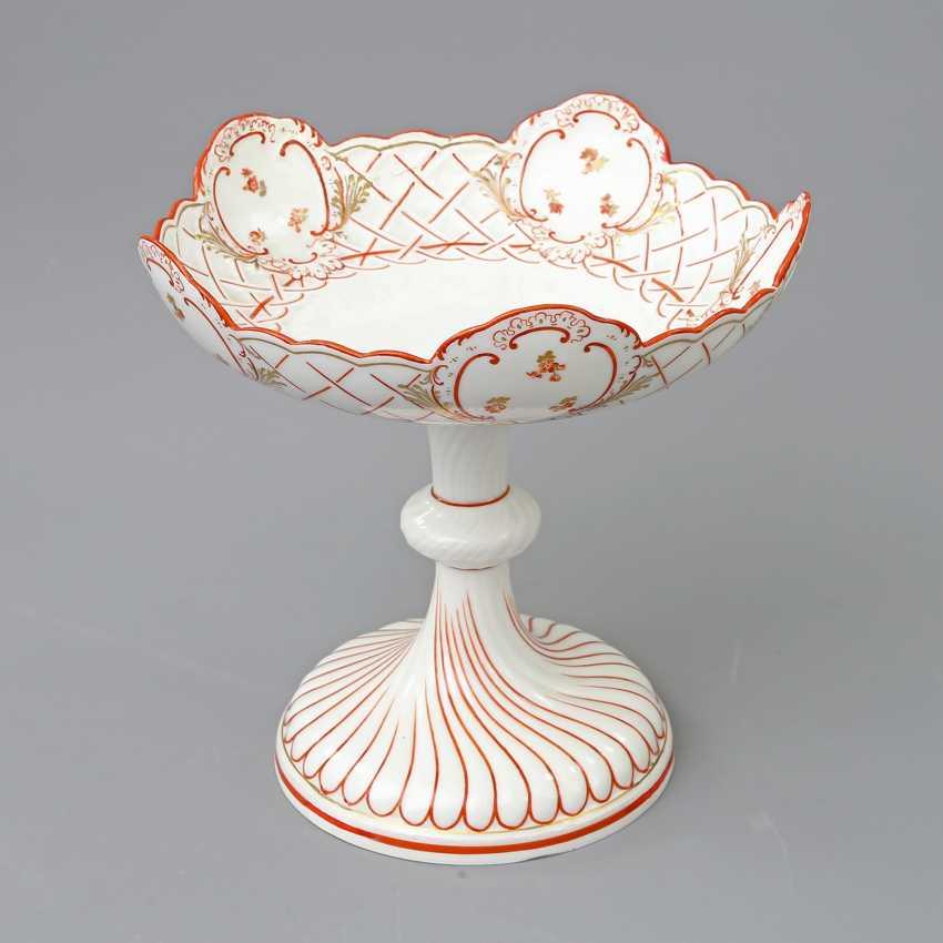 MEISSEN footed bowl, 19th century. Century, 1. Choice. - photo 2