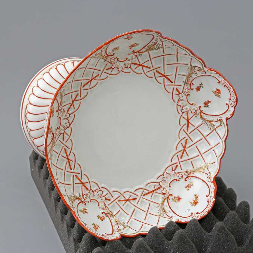 MEISSEN footed bowl, 19th century. Century, 1. Choice. - photo 3