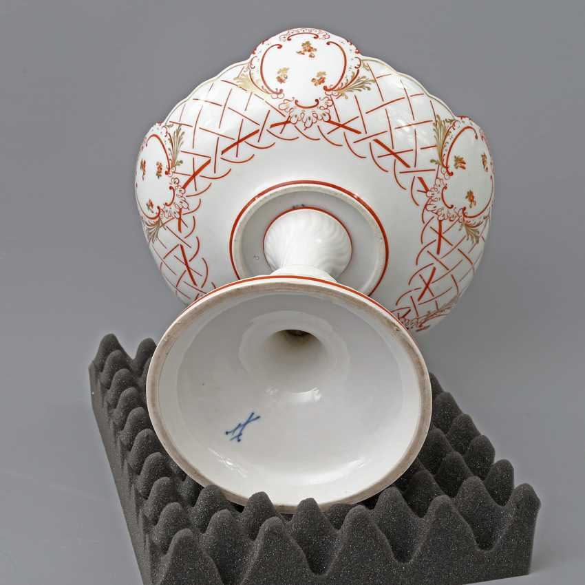 MEISSEN footed bowl, 19th century. Century, 1. Choice. - photo 4
