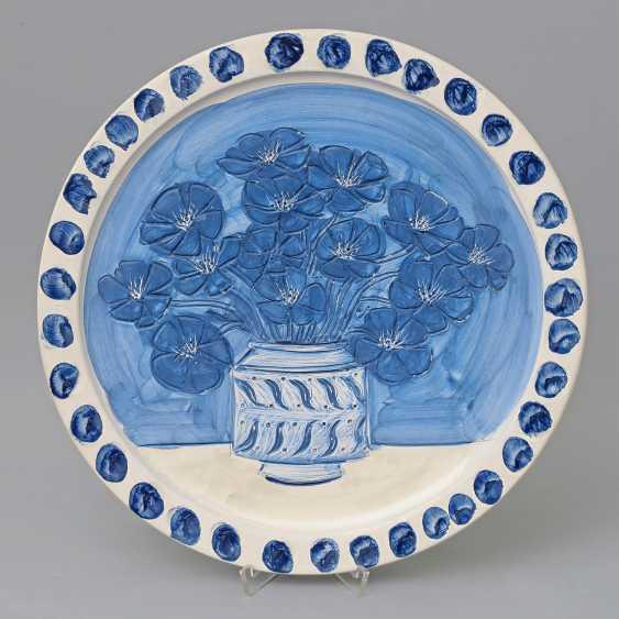 BRASILIER, ANDRÉ (born 1929), Counter, 'Blumen in Vase'. - photo 1