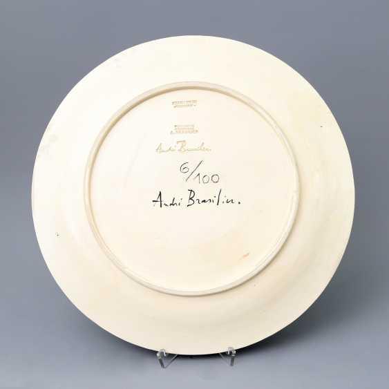 BRASILIER, ANDRÉ (born 1929), Counter, 'Blumen in Vase'. - photo 4