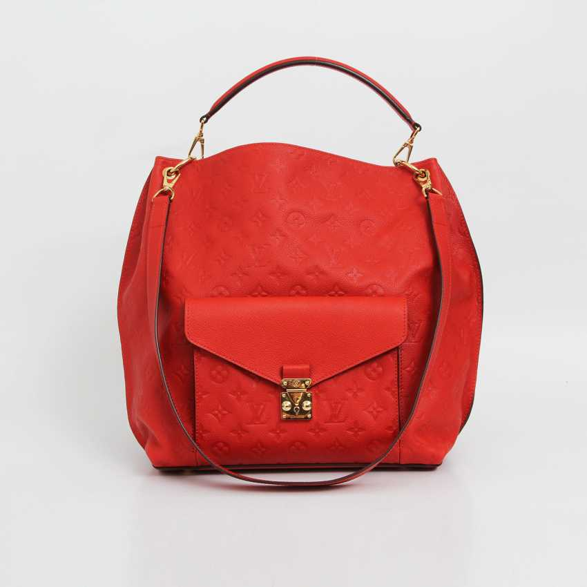 "LOUIS VUITTON exclusive shoulder/messenger bag ""METIS"", collection 2014. - photo 1"