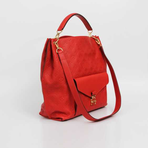 "LOUIS VUITTON exclusive shoulder/messenger bag ""METIS"", collection 2014. - photo 4"