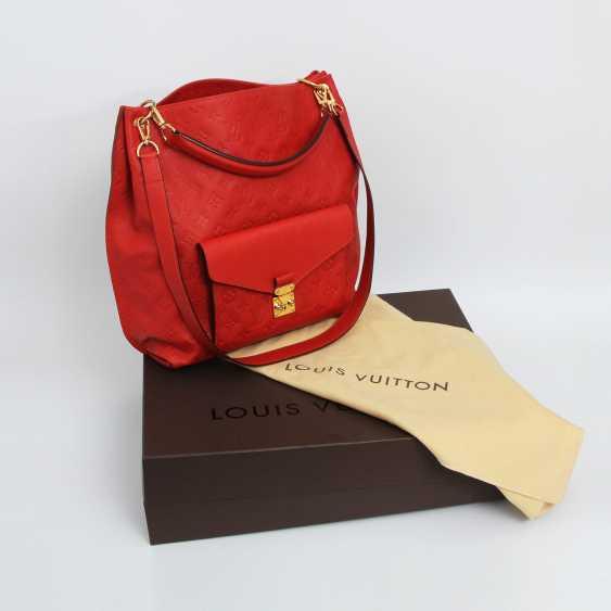 "LOUIS VUITTON exclusive shoulder/messenger bag ""METIS"", collection 2014. - photo 5"