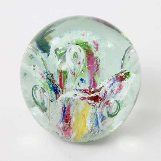 Paperweight (Paperweight) Crystal Ball, 20. Century - photo 1