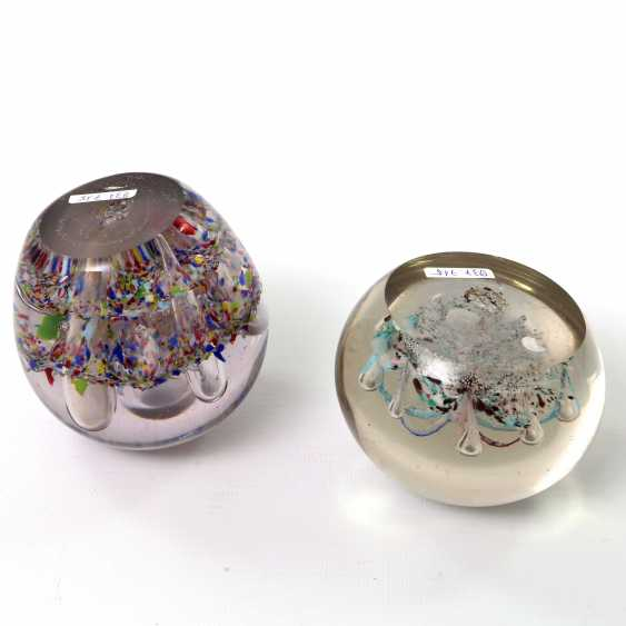 Pair Of Paperweight (Paperweights), 20. Century - photo 2