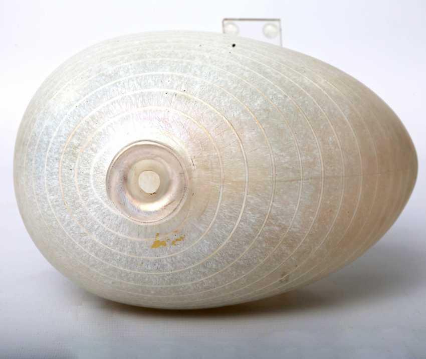 KOSTA BODA asymmetric Vase, from the Minos series by BERTIL VALLIEN, mid-1980s - photo 5