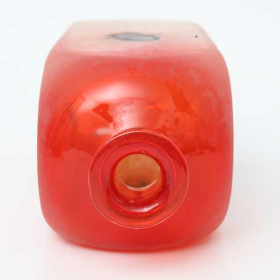 MURANO BARBINI red Vase, 20. Century - photo 3