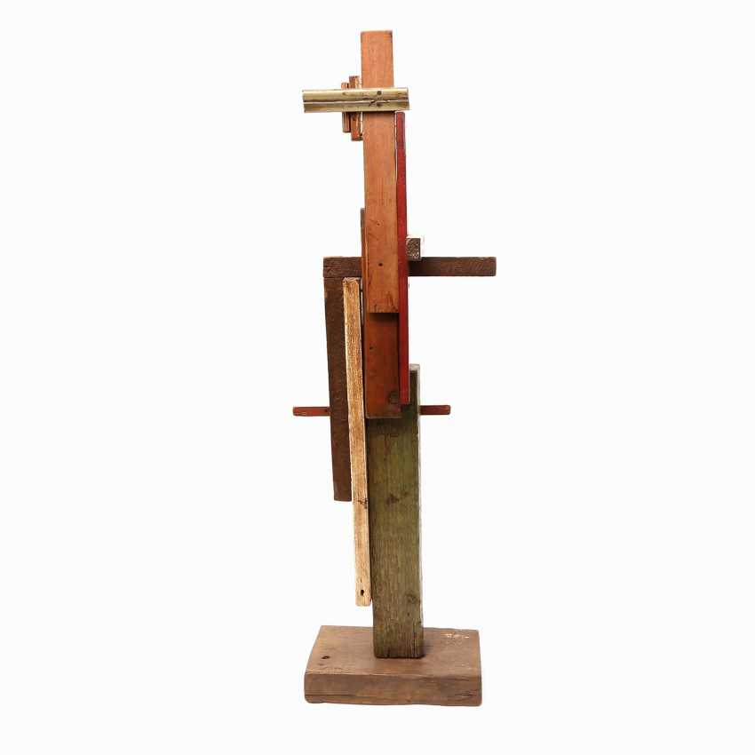 "ARTISTS 20. Century, probably in Russia, ""SUPREMATIST sculpture"", - photo 3"