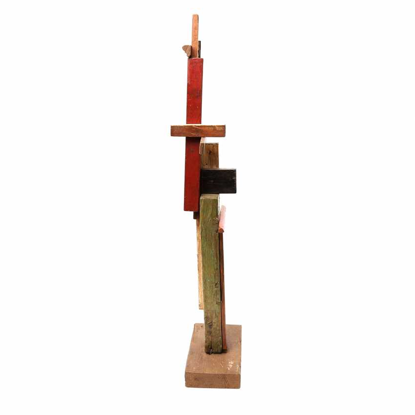 "ARTISTS 20. Century, probably in Russia, ""SUPREMATIST sculpture"", - photo 4"