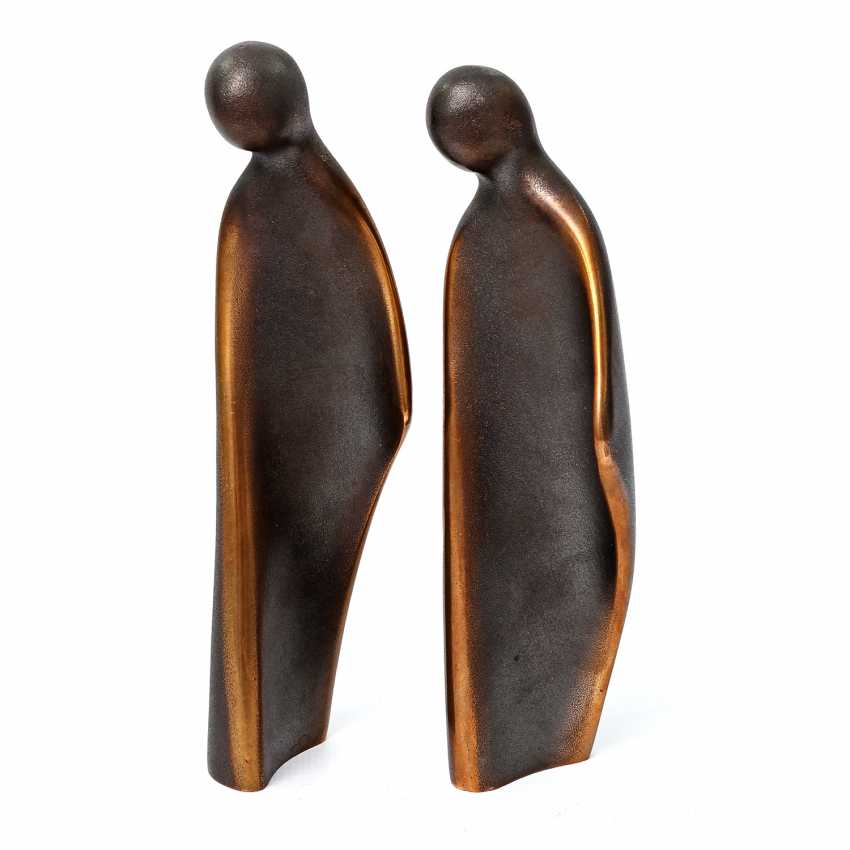 '2 embracing figures', 20. Century - photo 5