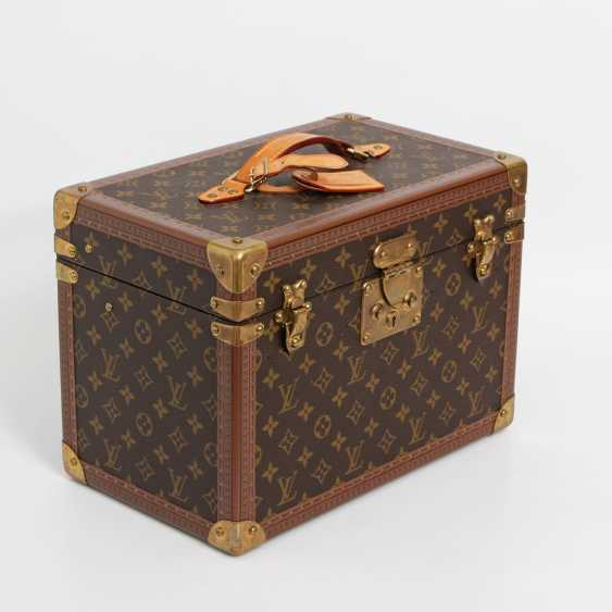 "LOUIS VUITTON VINTAGE elegant gray Beauty Case ""BOETIE PHARMACY"" - photo 2"