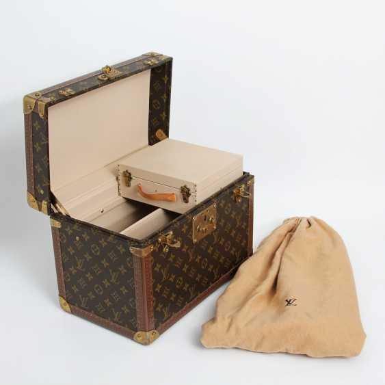 "LOUIS VUITTON VINTAGE elegant gray Beauty Case ""BOETIE PHARMACY"" - photo 4"