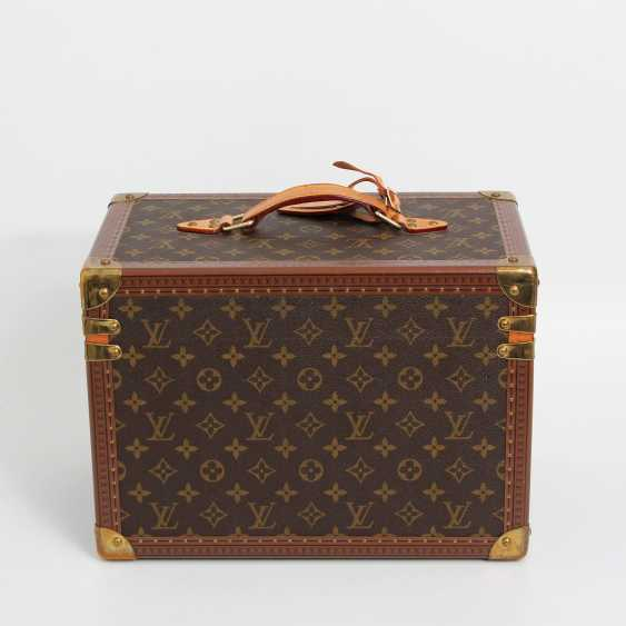 "LOUIS VUITTON VINTAGE elegant gray Beauty Case ""BOETIE PHARMACY"" - photo 3"