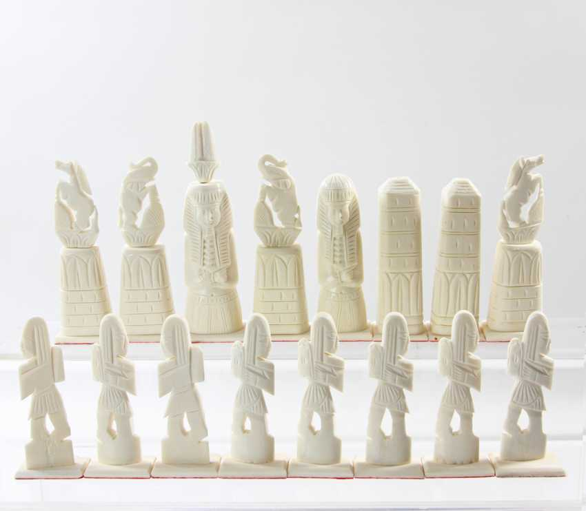 Noble Game Of Chess. ORIENTAL, 20. Century - photo 4
