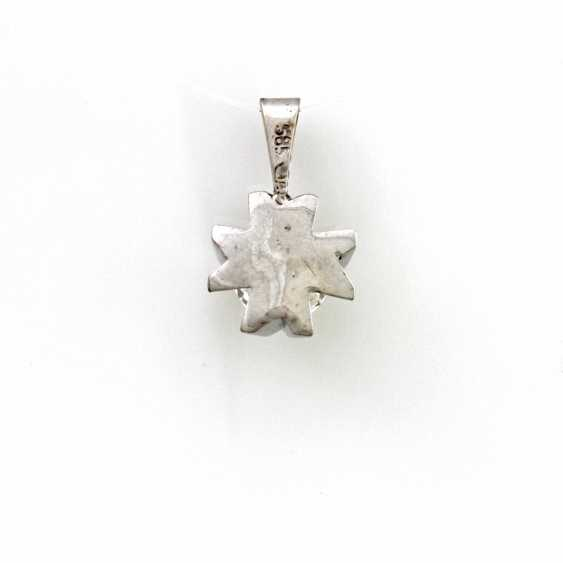 Pendant White Gold 14 K - photo 3