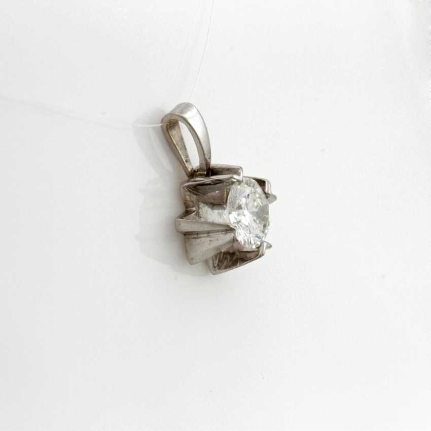 Pendant White Gold 14 K - photo 2