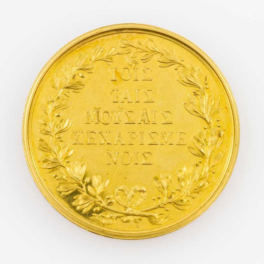 Greece/Gold - Medal-to-8 ducats o. J., stamp of Konrad Lange, - photo 2