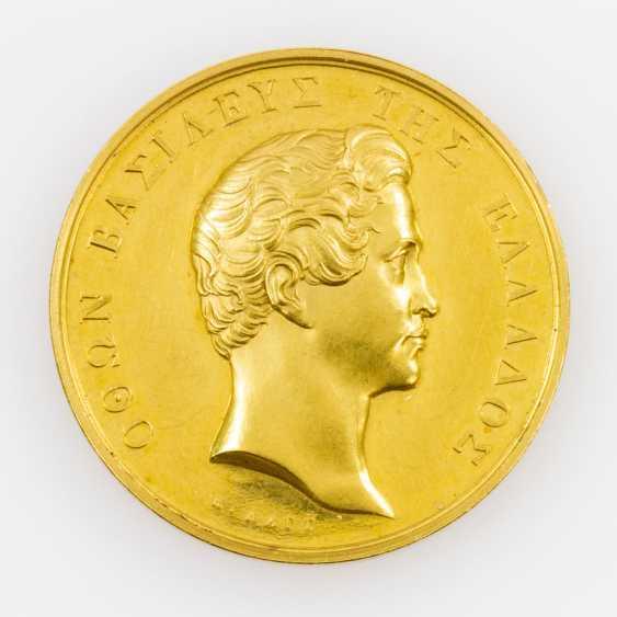 Greece/Gold - Medal-to-8 ducats o. J., stamp of Konrad Lange, - photo 1
