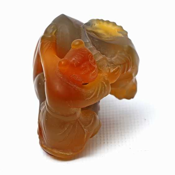 Sculpture group made of agate. CHINA, 20. Century - photo 4