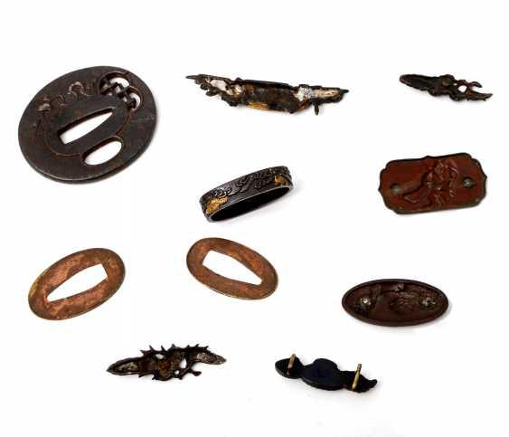 Interesting sword jewelry Set, 10teilig JAPAN, different eras - photo 2