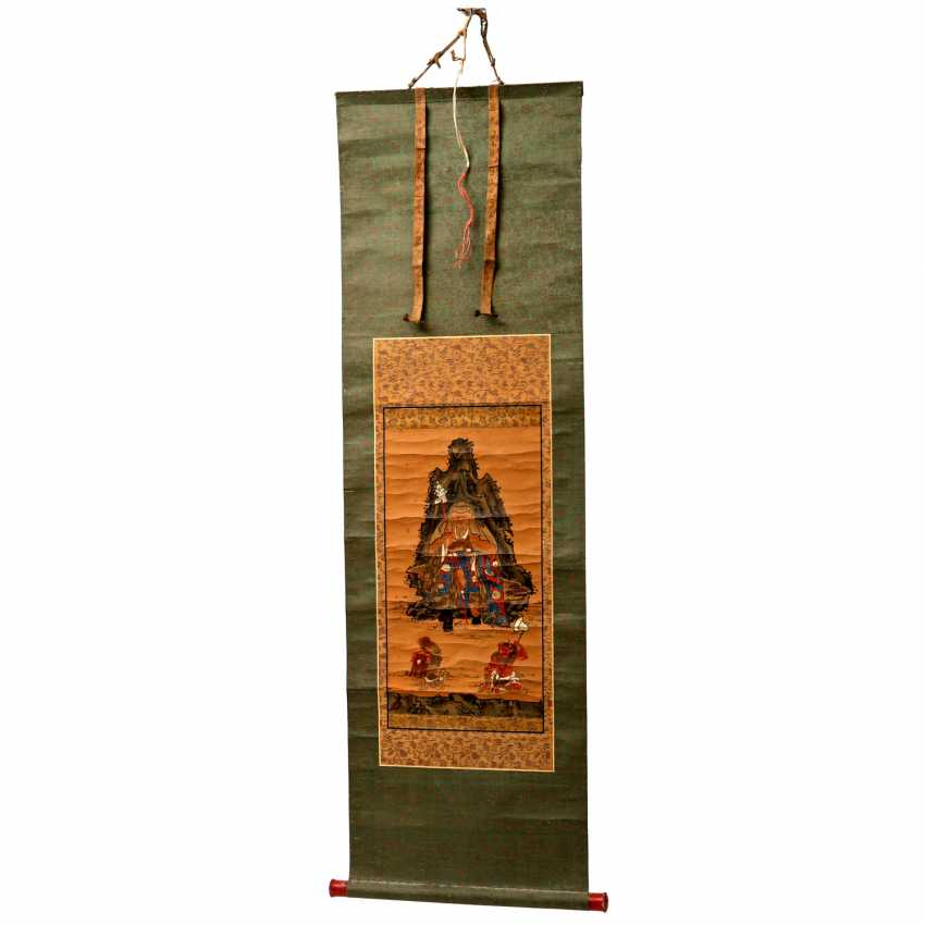 Hanging scroll. JAPAN, Meiji-period (1868-1912) - photo 1