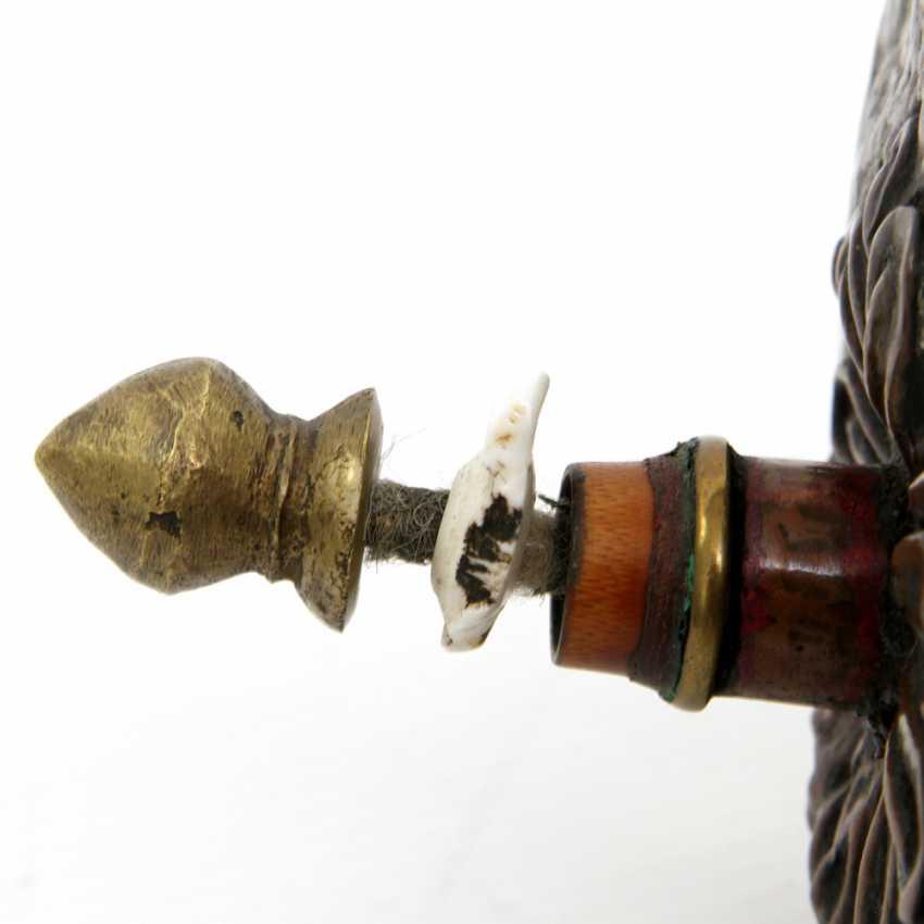 Prayer mill (manilagkhor). Copper and brass. TIBET - photo 3