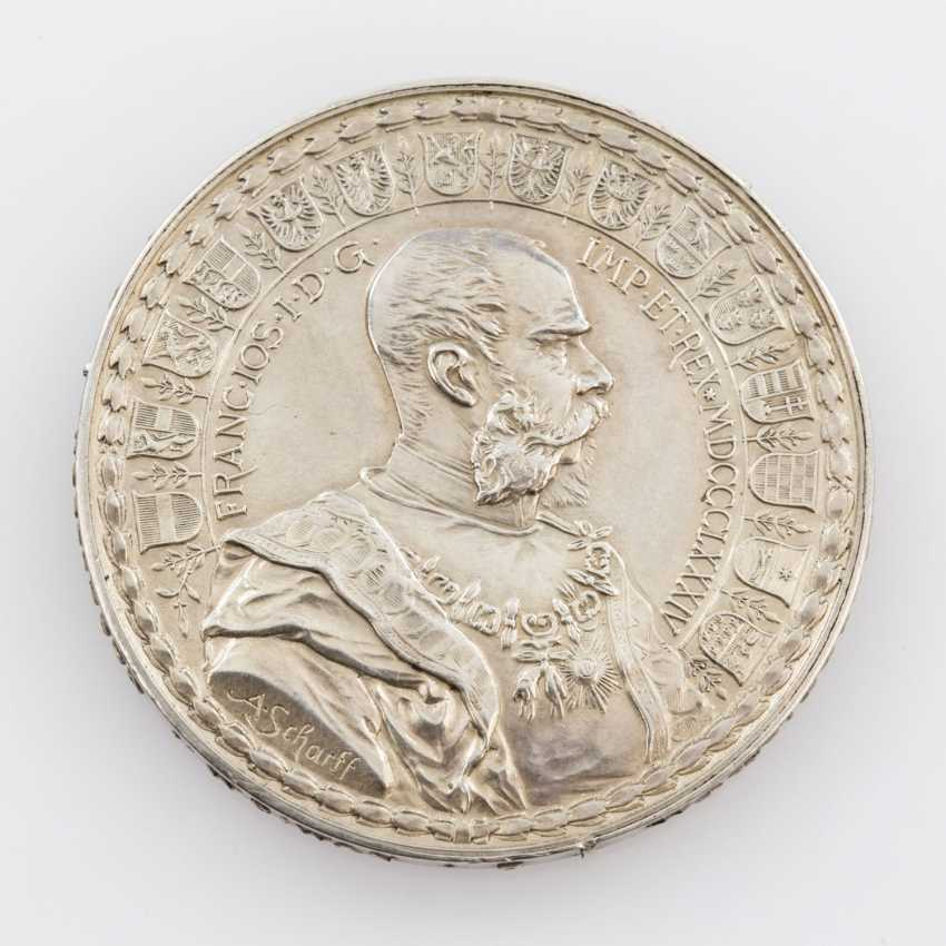 RDR/house of Habsburg - numis fundamental 1884, Franz Joseph I., to the 400-year-old Taler anniversary - photo 2
