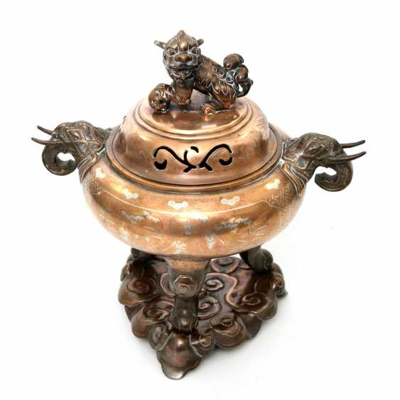 Incense burner made of Bronze. CHINA, around 1900 or earlier - photo 1