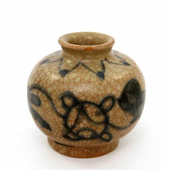 Medicine bottle, made of ceramic. CHINA, probably Ming-dynasty (probably 16. Century) - photo 1