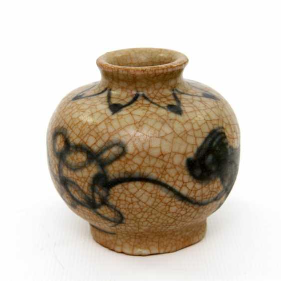 Medicine bottle, made of ceramic. CHINA, probably Ming-dynasty (probably 16. Century) - photo 3