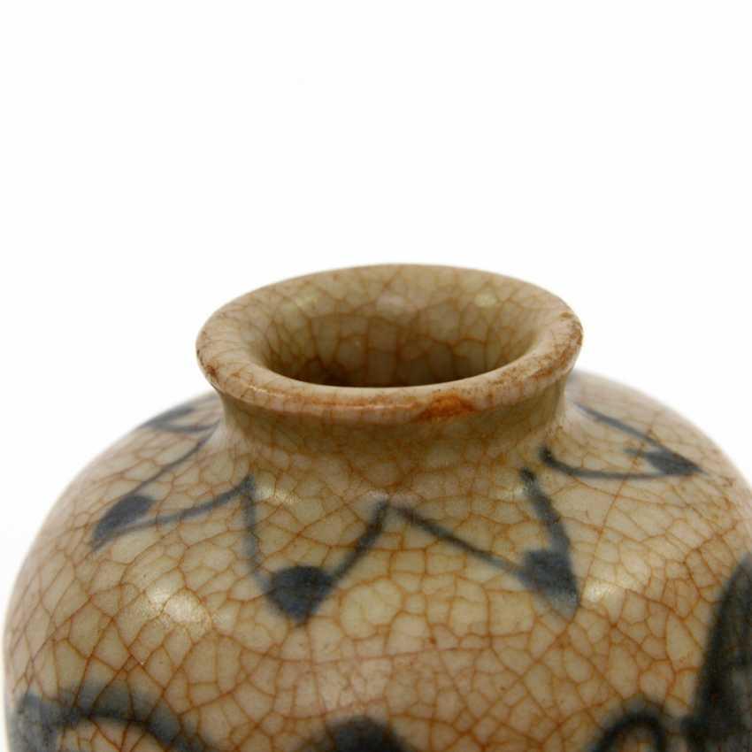 Medicine bottle, made of ceramic. CHINA, probably Ming-dynasty (probably 16. Century) - photo 5