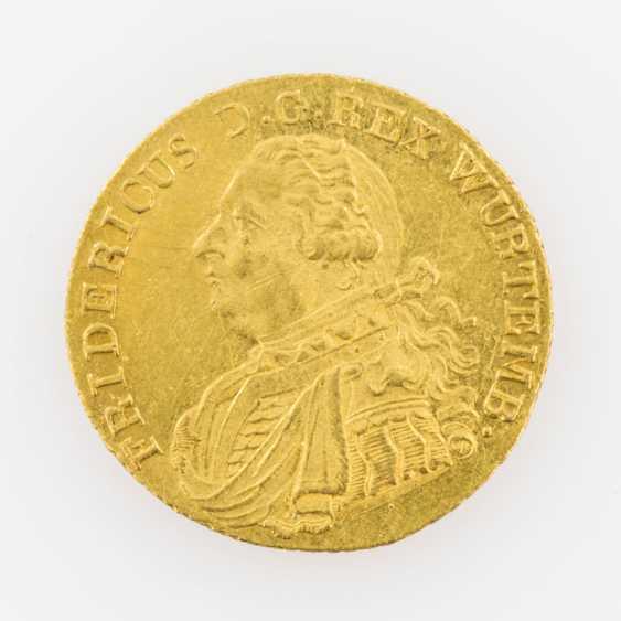 Württemberg/Gold 1 Ducat, 1808/ C. h., Friedrich II. (I.), Jaeger 21, - photo 1