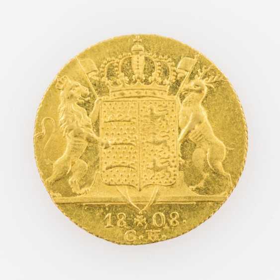 Württemberg/Gold 1 Ducat, 1808/ C. h., Friedrich II. (I.), Jaeger 21, - photo 2