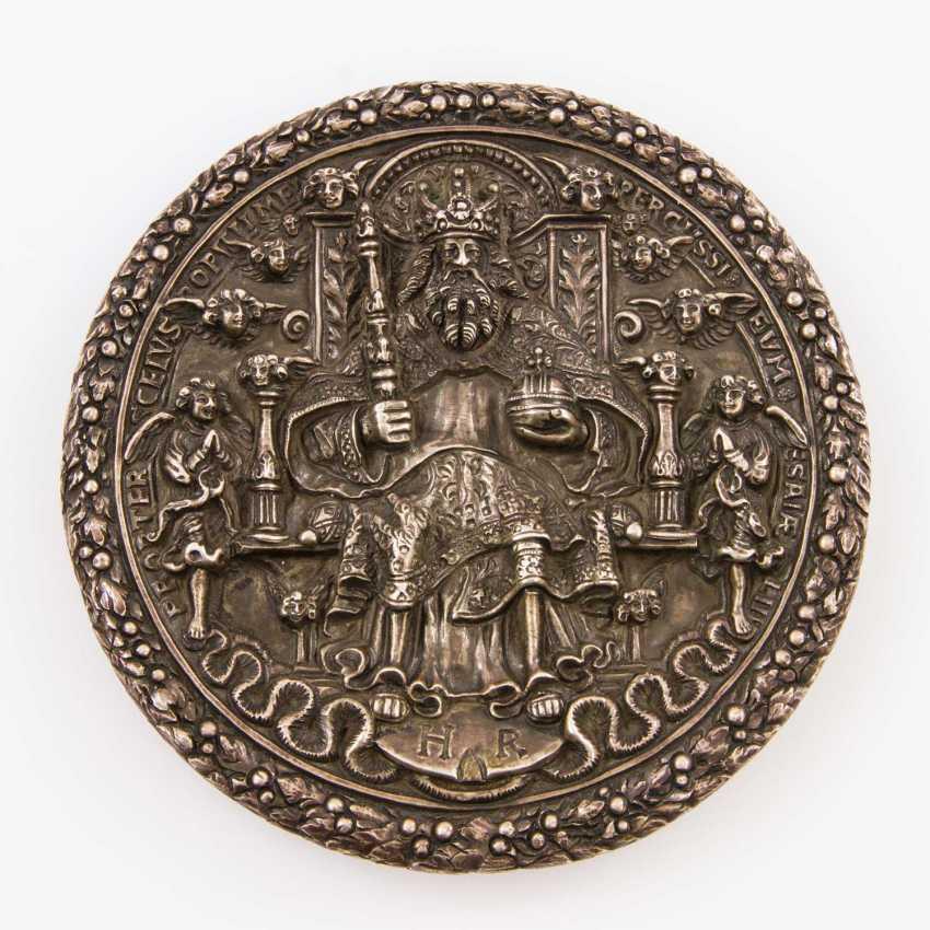 Saxony - Silver Trinity medal 1566, medalist, H. Reinhardt, d., Older, - photo 1