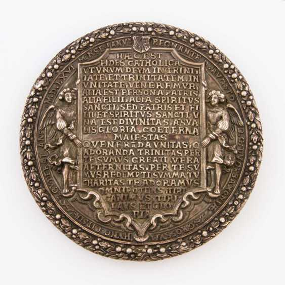 Saxony - Silver Trinity medal 1566, medalist, H. Reinhardt, d., Older, - photo 2