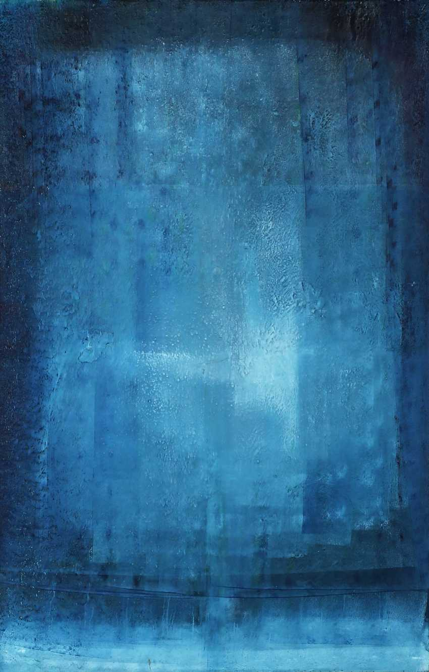 "ARTIST of the 20th century./21. Century, ""Abstract composition in Blue"", - photo 1"