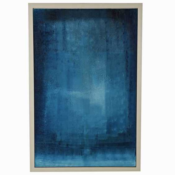 "ARTIST of the 20th century./21. Century, ""Abstract composition in Blue"", - photo 2"