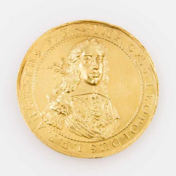RDR / Österreich/GOLD Medal to 10 Ducat o. J. (1657), Leopold I., - photo 1