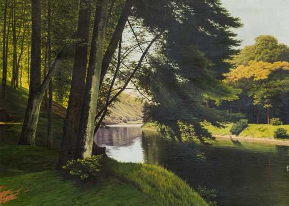 "CHWALA, FRITZ (Vienna, 1872-1936, ibid. at the Akad.), ""Landscape"", - photo 1"