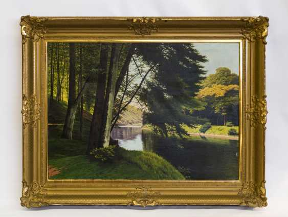 "CHWALA, FRITZ (Vienna, 1872-1936, ibid. at the Akad.), ""Landscape"", - photo 2"