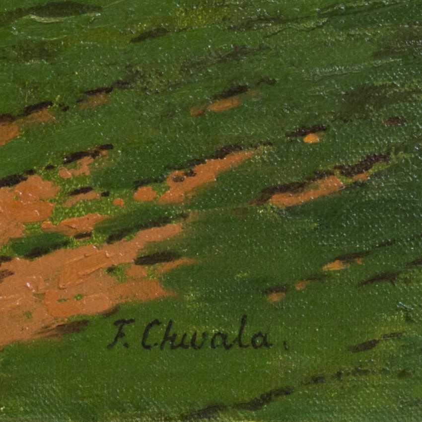 "CHWALA, FRITZ (Vienna, 1872-1936, ibid. at the Akad.), ""Landscape"", - photo 3"