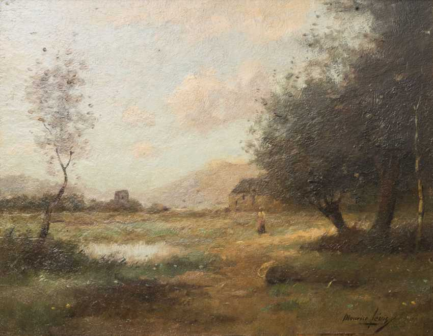 "LEVIS, MAURICE (1860-1940, Maler in Paris), ""Landschaft"", - photo 1"