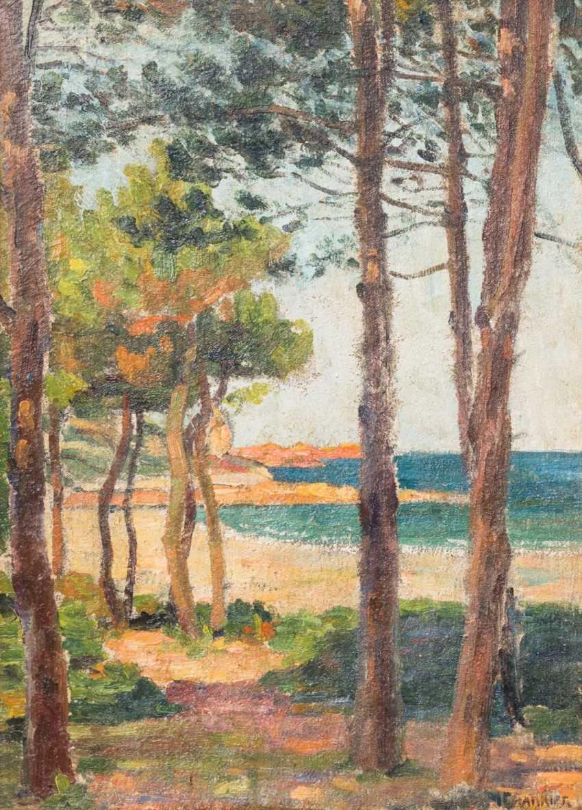 "CHARRIER, M. (painter-1. Half of the 20. Century, France), ""coast"", - photo 2"